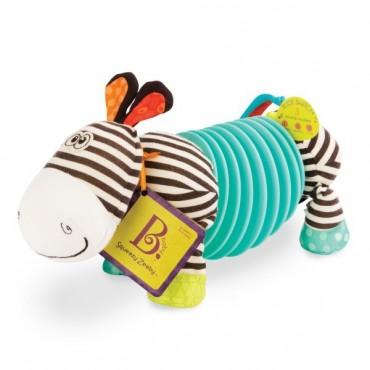 Zebra Akordeon dla maluszków SQUEEZY ZEEBY B. Toys