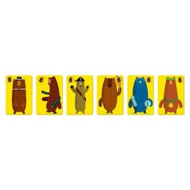 Gra karciana Pojedynek zwierząt Janod