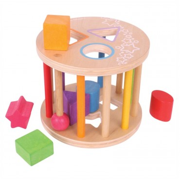 Pierwszy sorter do turlania BB096 BigJigs