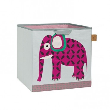 Lassig Pudełko na zabawki Wildlife Słoń