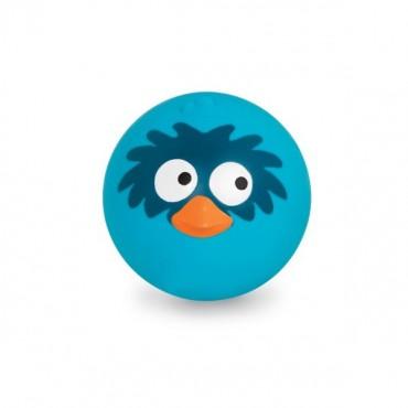 Sprężysta Piłka wydająca ptasie odgłosy - niebieska B. Toys
