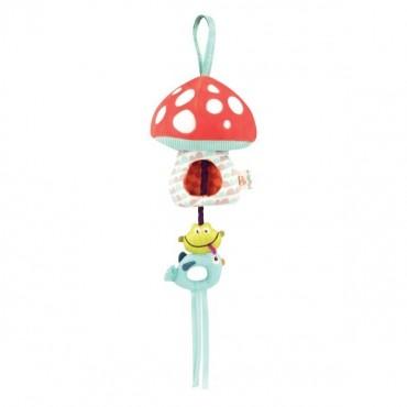 Muchomor pozytywka - sensoryczna dla niemowląt B. Toys