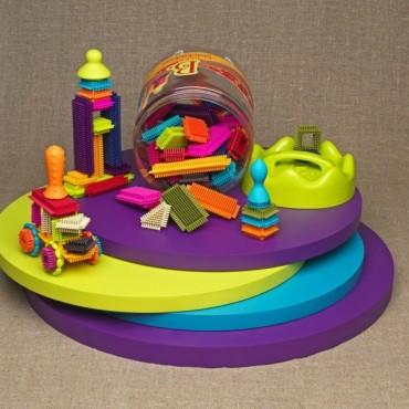 Klocki jeżyki w słoju B. Toys