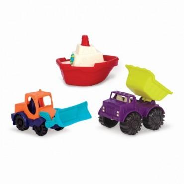 Zestaw 3 mini pojazdów B. Toys