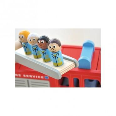 Drewniany wóz strażacki Freddiego Indigo Jamm