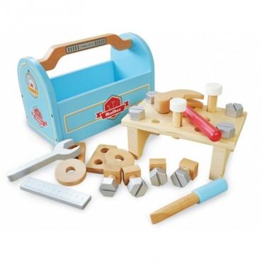 Drewniana skrzynka z narzędziami Indigo Jamm