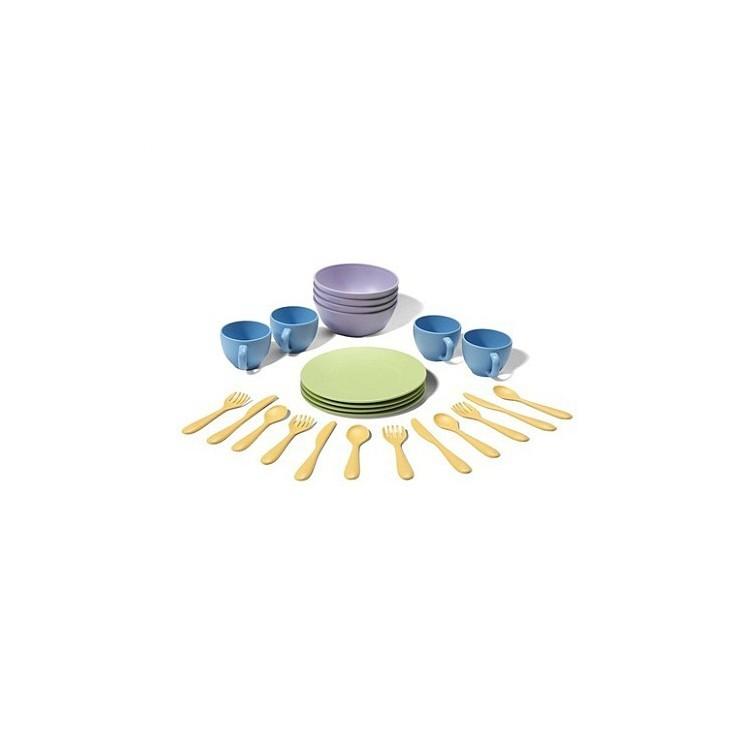 Zestaw obiadowy GTDSH01R Green Toys