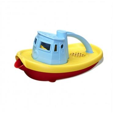 Łódź holownicza niebieska GTTUG01RB Green Toys