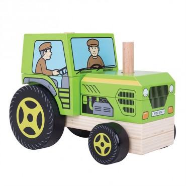 Traktor z klocków BB125 BigJigs