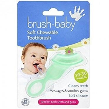 Brush-Baby - gryzak dla dzieci w wieku od 10-36 miesięcy